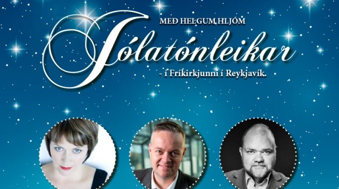 Með helgum hljóm, hádegis-, jóla-, og styrktartónleikar fimmtudaginn 7. desember kl. 12